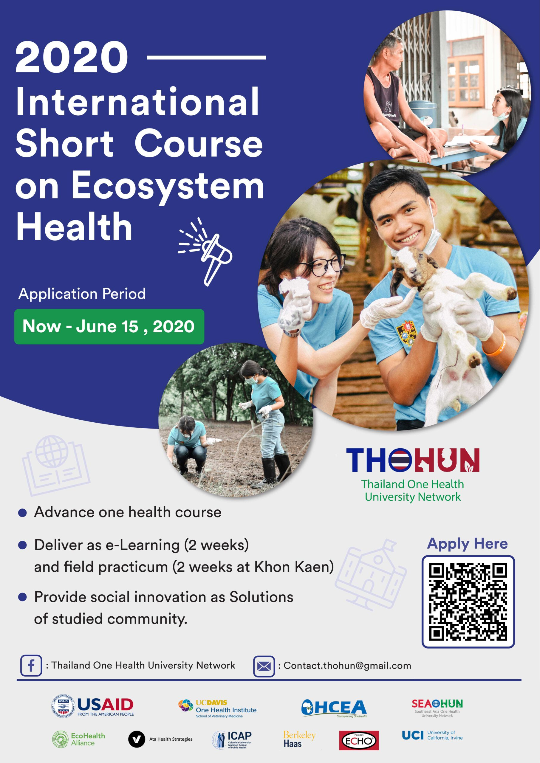 International Short Course on Ecosystem Health TELI 2020