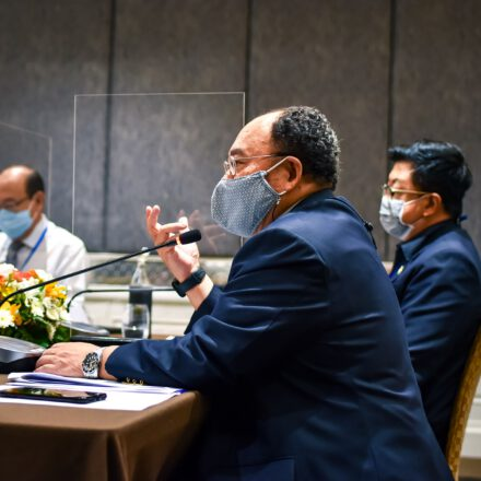"""Deans, Partners and Steering Committee Meeting """"Multisector collaboration & Partnership"""" at Bangkok on September 1, 2020"""